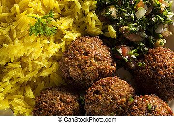 gezonde , vegetariër, falafel, gelul