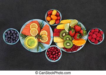 gezonde , voeding, goede gezondheid