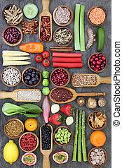 gezonde , voeding, voedingsmiddelen