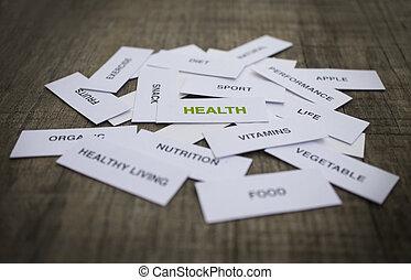 gezondheid, concept
