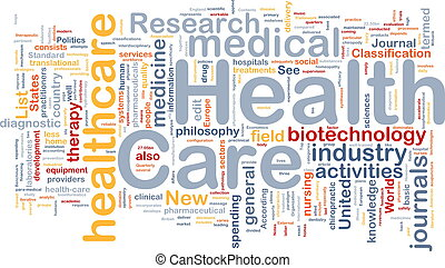 gezondheidszorg, achtergrond, concept