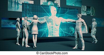 gezondheidszorg, technologie