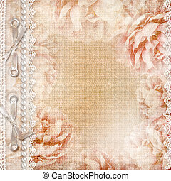 Grunge Beautiful Roses Album Cover