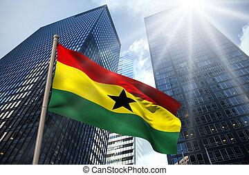 ghána, nemzeti lobogó