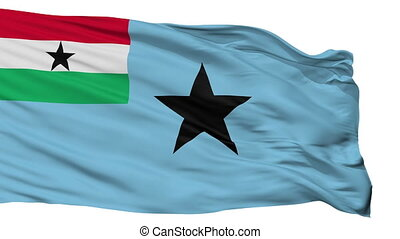 ghana, civil, 1966, enseigne, isolé, air, 1964, drapeau,...