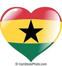 ghana, corazón