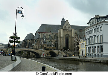Ghent Canal View