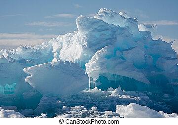 ghiacciaio, antartico