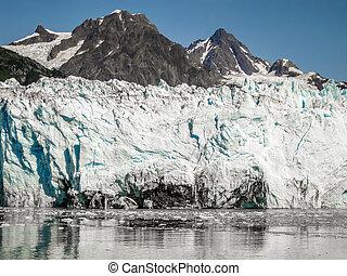 ghiacciaio, columbia, alaska
