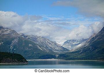 ghiacciaio, nazionale, parco, baia