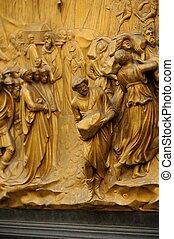 Baptistery Bronze Door