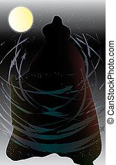ghost illustration