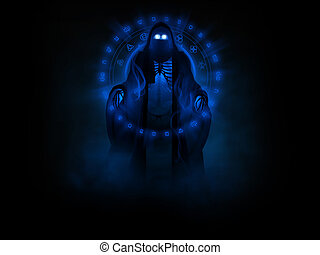 Ghost or wraith character