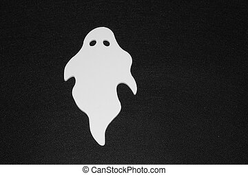 Ghost - An image showing the concept of Halloween with a...