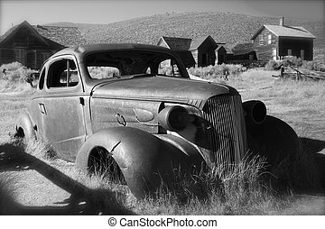 Ghost Town Bodie State Historic Car