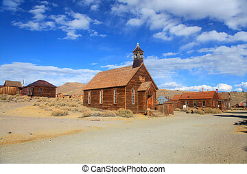 Ghost town Bodie,California