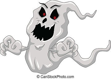 ghost vector design - vector illustration of ghost vector...