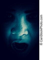 Ghost women in the dark