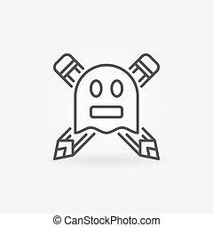 Ghostwriter concept icon