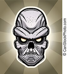 Ghoul Illustration - An illustration of a ghoul on a...