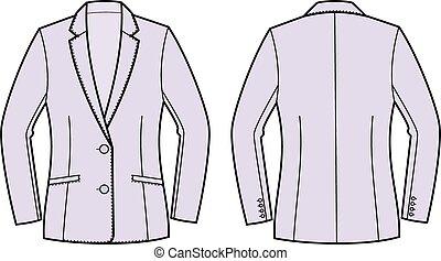 giacca, affari
