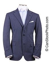 giacca, isolato, su, il, sfondo bianco