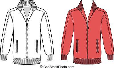 giacca, manica lunga