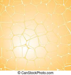 giallo, astratto, fondo