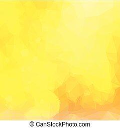 giallo, festivo, fondo, con, luci