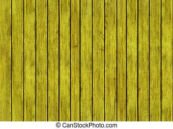 giallo, legno, disegno, struttura, fondo, pannelli