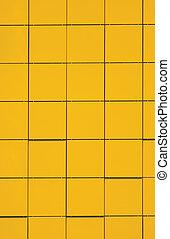 giallo, metallico, facciata, pannello, fondo, naturale,...