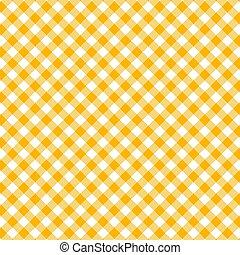 giallo, seamless, pattern., percalle