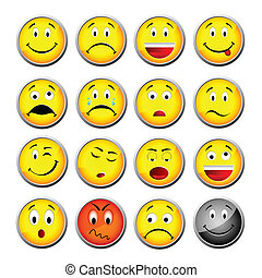 giallo, smileys