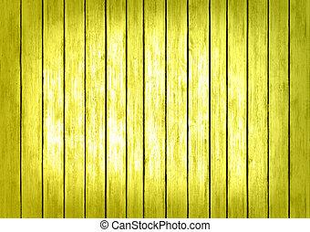 giallo, tessuto legno, fondo, pannelli, superficie
