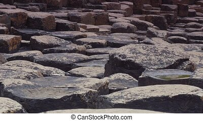 Giant Causeway, Northern Ireland, CloseUp - Graded and...