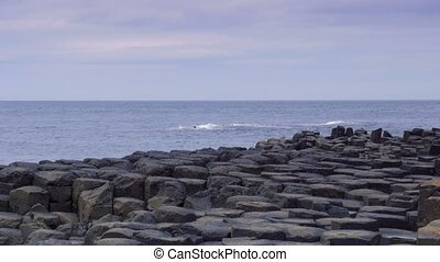 Giant Causeway, Northern Ireland - Graded and stabilized...
