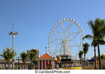 giant-ferris-wheel - Giant ferris wheel ride built in the ...