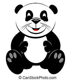 Giant Panda Teddy Bear