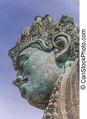 Giant statue in the Garuda Wisnu Kencana Cultural Park