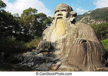 Giant statue of Laozi