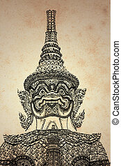 Giant Thai background