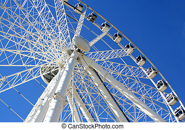 Giant wheel 3 - giant ferris wheel in Seville, Spain