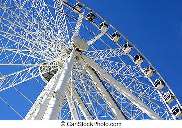 Giant wheel 3 - giant ferris wheel in Seville, Spain