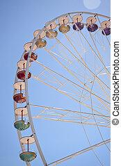 Giant wheel on a funfair