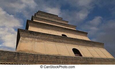 Giant Wild Goose Pagoda, Xian - Giant Wild Goose Pagoda or...