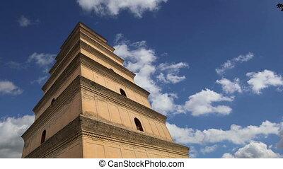 Giant Wild Goose Pagoda.Xian