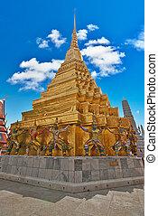 Wat Phra Kaeo Temple, Bangkok landmark