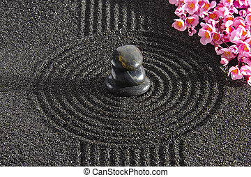 giappone, giardino zen