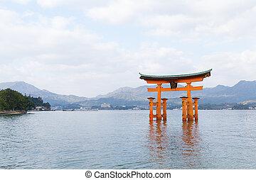 giappone, itsukushima shrine