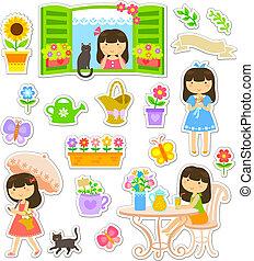 giardinaggio, collezione